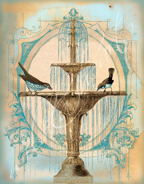 Fontaine bleue