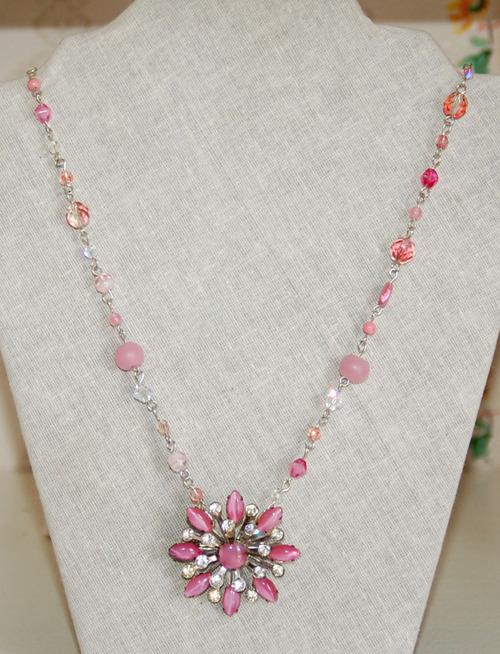 Necklacepinksilver